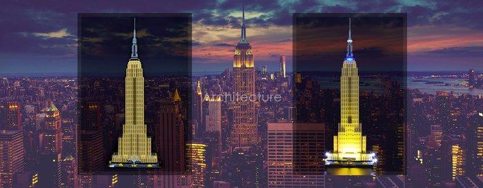LED Licht Set Für 21046 LEGO Architecture Empire State Building Kit