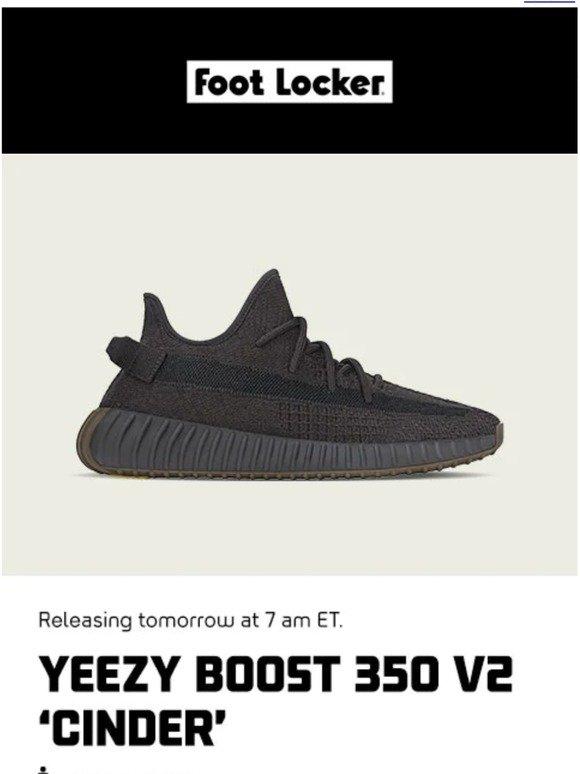 foot locker yeezy release