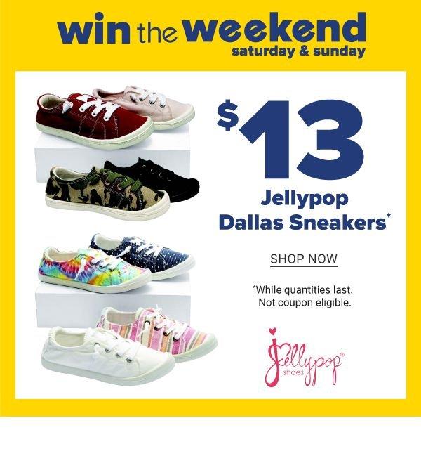 Belk: This weekend only! $13 Jellypop
