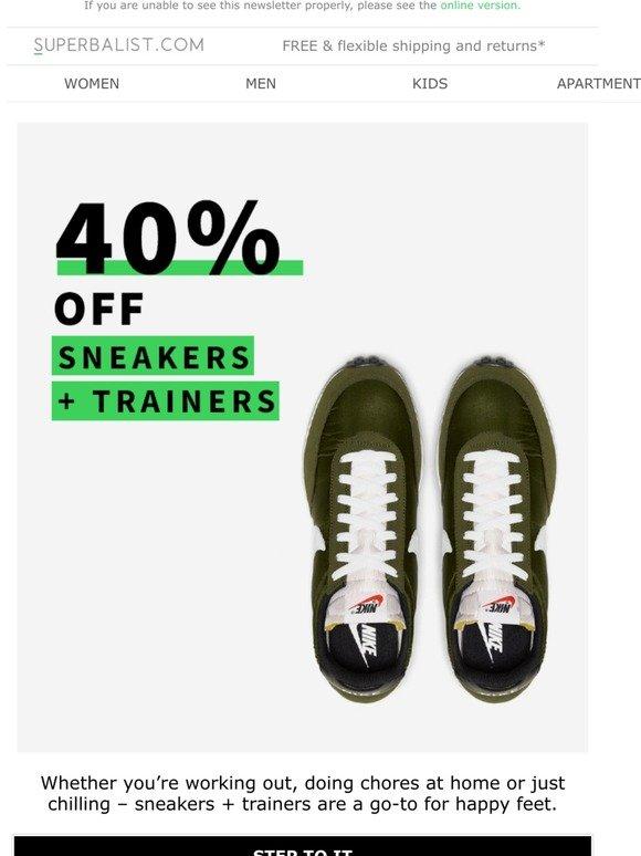 superbalist sneakers ladies