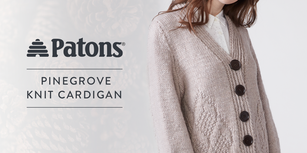 Yarnspirations: You'll love our *NEW* knit cardigan pattern