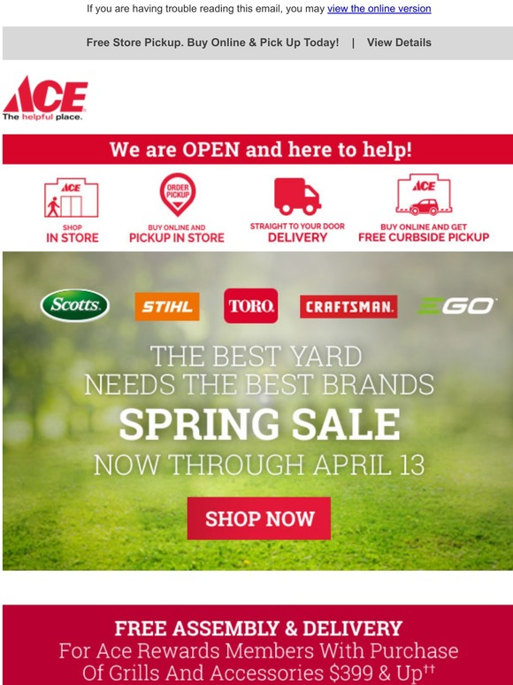 Ace Hardware 4th Of July Sale Starts Now Milled