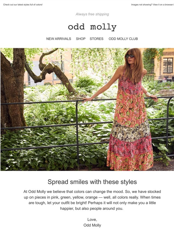 c@2x - Odd Molly The Gardener Long Dress