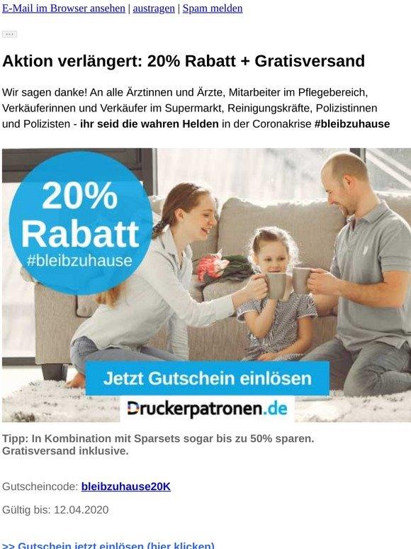 ❤️Wir sagen danke! 20% Rabatt - Aktion verlängert ❤️