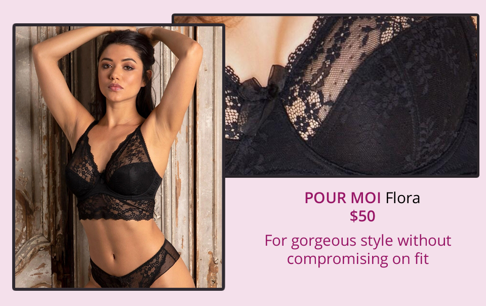Women/'s Pour Moi Flora Bralette