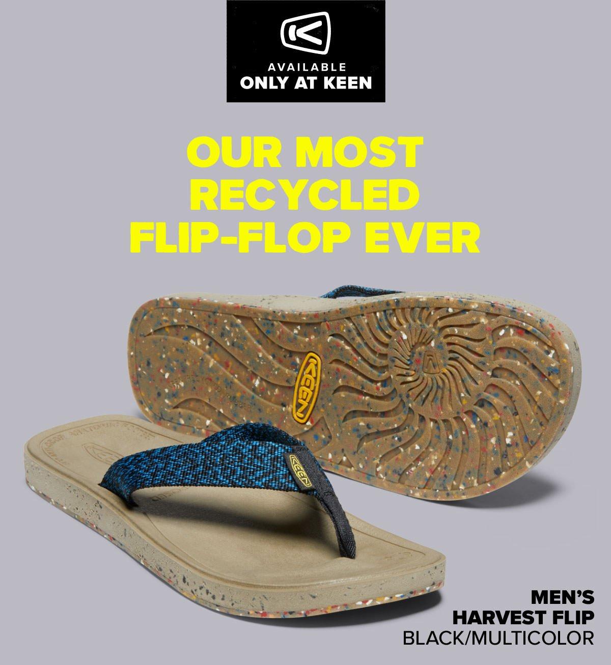 feel-good, made-good flip-flop   Milled