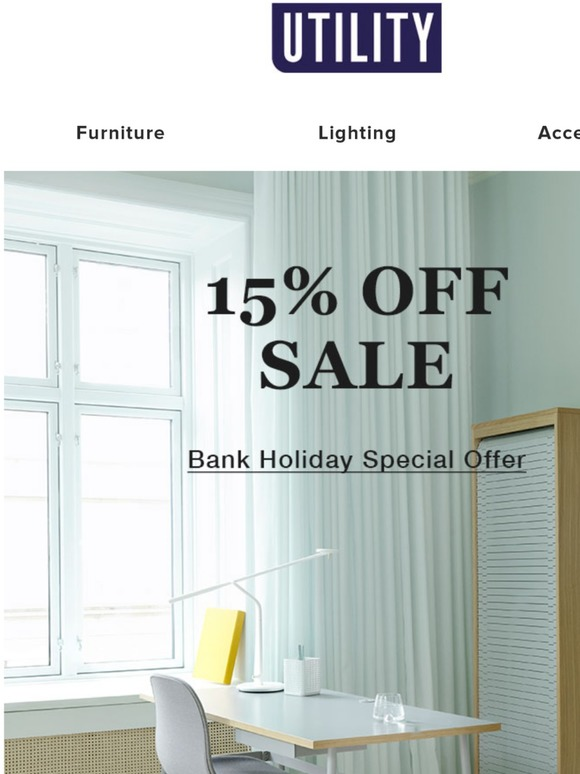 Design Bank Sale.Utility Design Bank Holiday Sale Now On Use Code Easter15 Milled