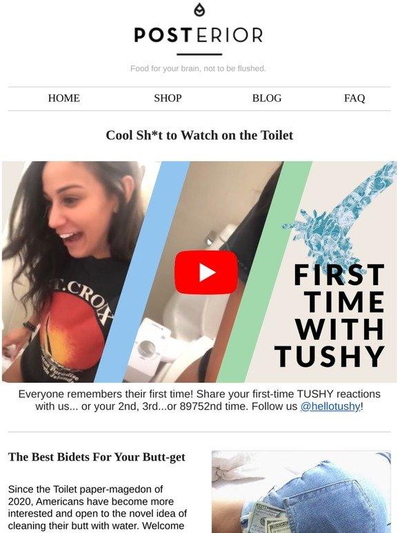 Tushy Buttcon Giveaway Tushy X Future Method 🍑 Milled