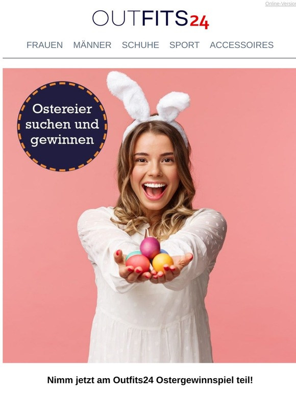 Lieber Kunde, jetzt Ostereier finden und gewinnen!