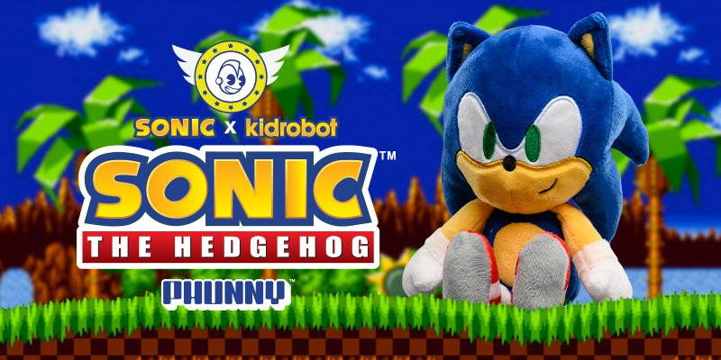 Kidrobot Sonic The Hedgehog Spins Back To Kidrobot Com Milled