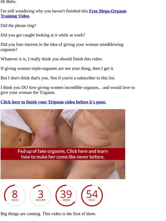 How To Orgasm Video