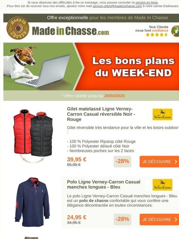 Bleu Gilet matelass/é Ligne Verney-Carron Week-end r/éversible Marron