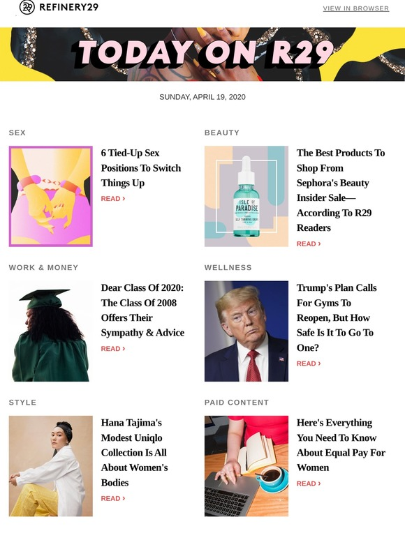 Refinery29: 6 tied-up sex positions to switch things up