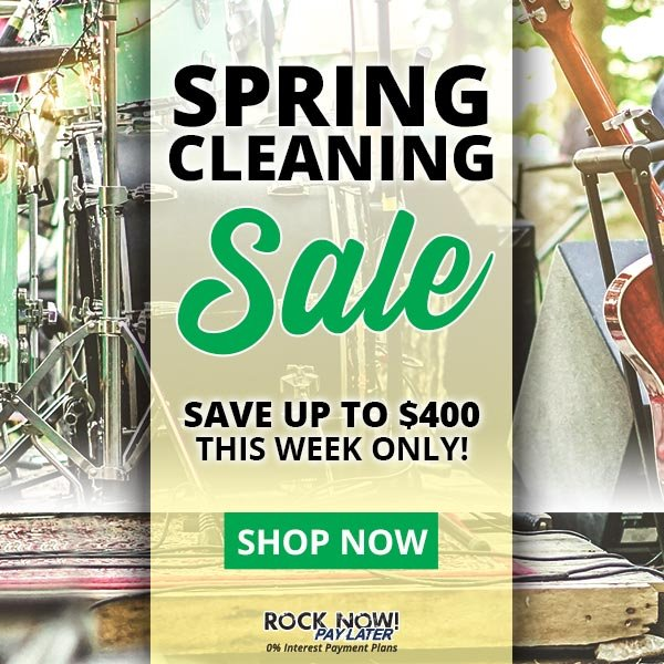 After Christmas Sales 2020 American Musical Supply American Musical Supply: Spring Cleaning Sale 🍃 Up to $400 Off