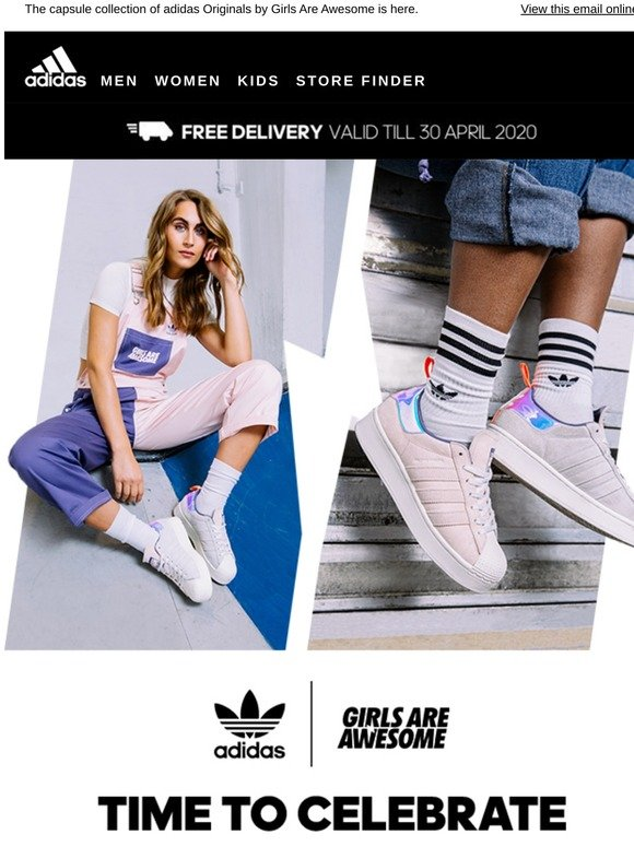 Adidas Singapore Girls Are Awesome Milled