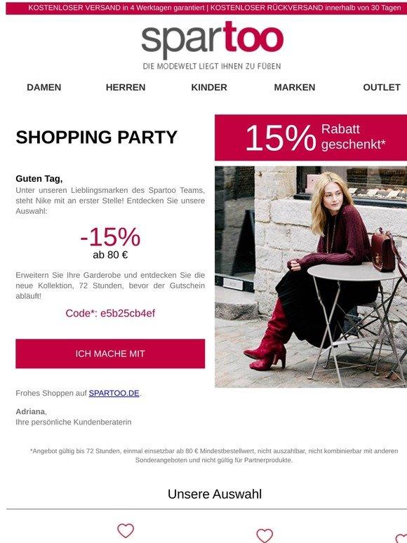 último clasificado zapatos elegantes super barato se compara con Spartoo.de: Sonderangebot: 15% Rabatt auf die Marke Nike: Sie ...