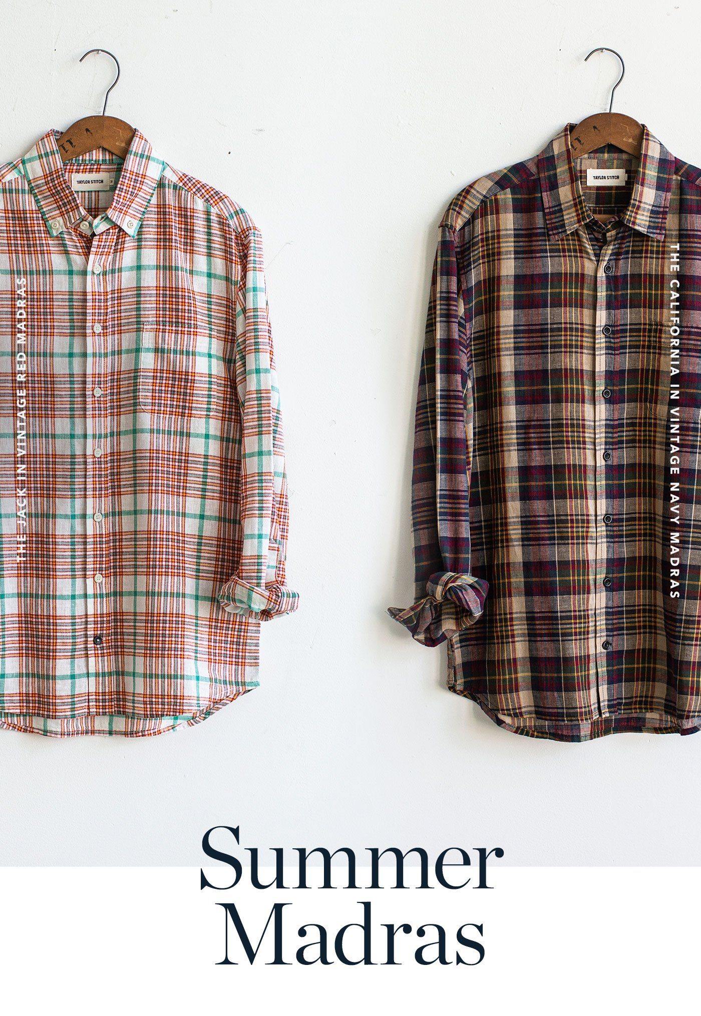 Taylor Stitch: Summer Madras + This Week's #TSFromHome Playlist ...
