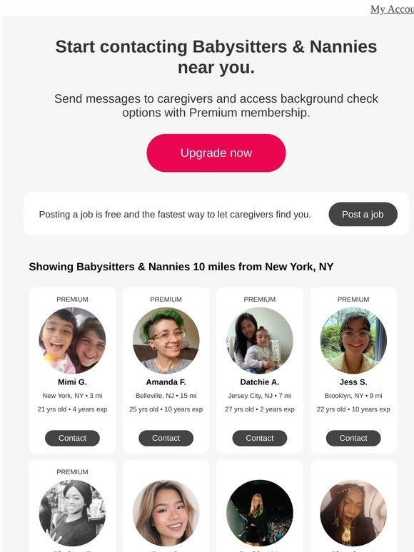 Care Com Your New Caregivers Near New York Ny Milled