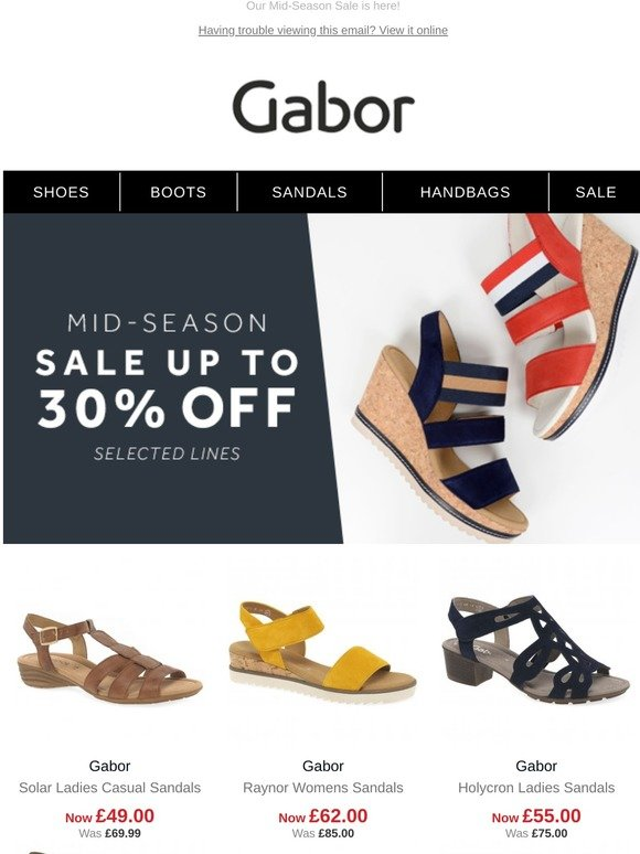 Gabor Shoes: Up to 30% off | Shop our