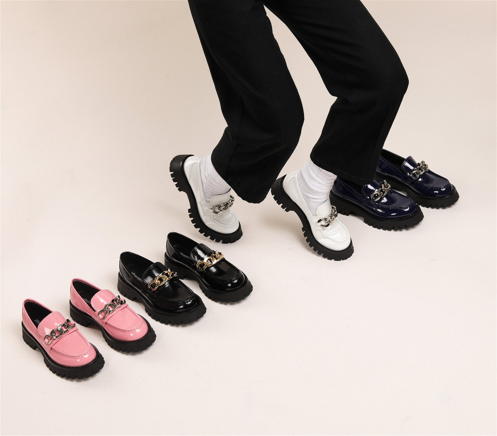 Platform Loafers in 4 Colors + 40