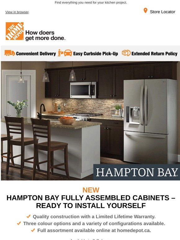 Homedepot Ca Kitchen Diy Ideas For Your Next Renovation Milled