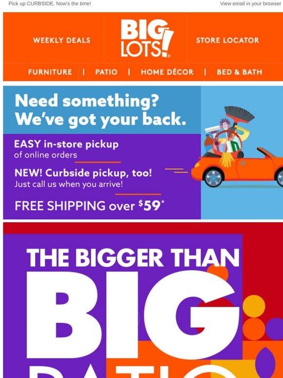 Big Lots This Week Big Patio Deals Online Milled