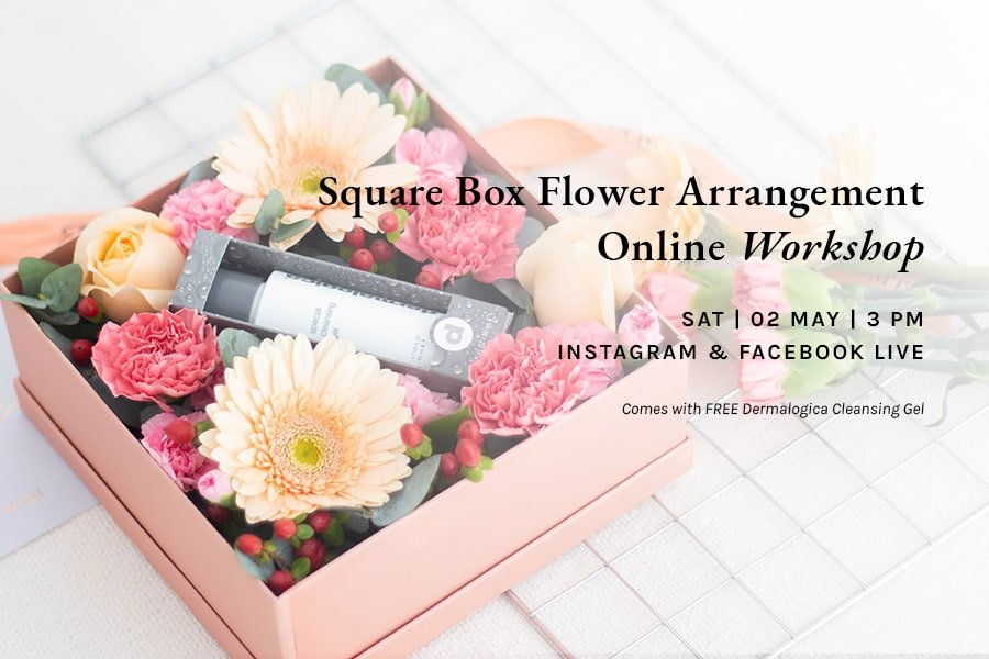Bloomthis Sg Gift Box Floral Arrangement Workshop This Saturday Milled
