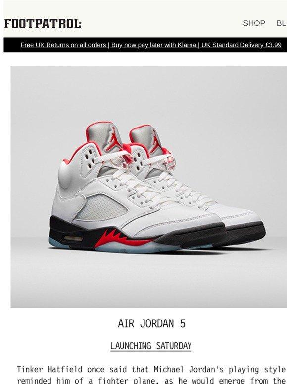 Footpatrol FR: The Air Jordan 5 'Fire