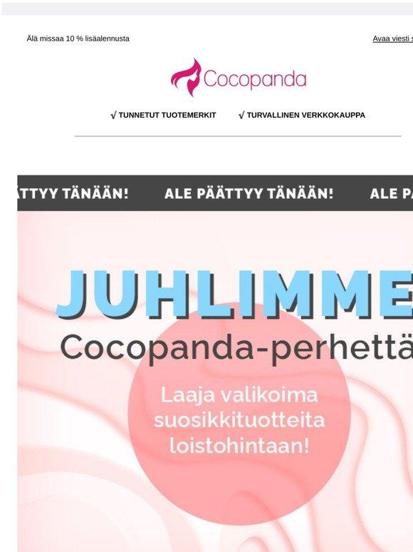 Cocopanda Alennuskoodit & Kampanjakoodi Elokuu 2020