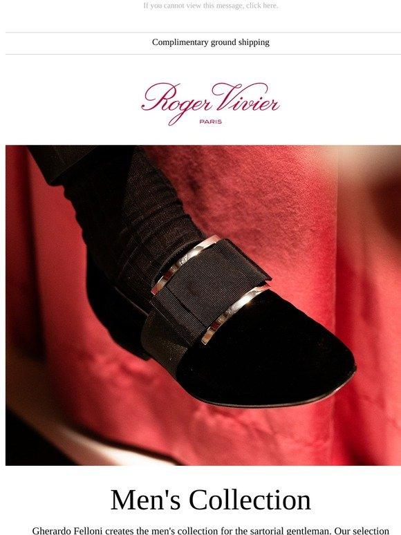 Roger Vivier: Exclusively for Men   Milled
