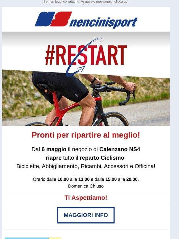 Nencini It Restart Riapertura Reparto Ciclismo Milled