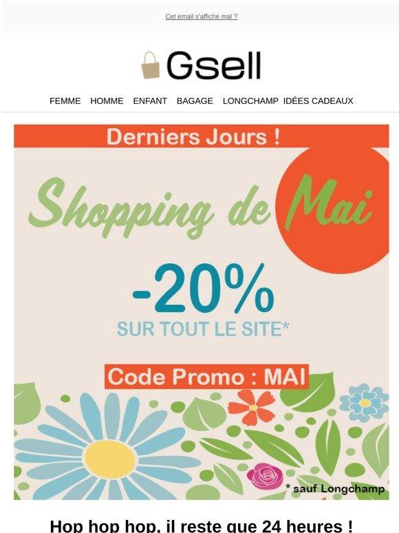 gsell.fr: Vite, plus que 24h pour profiter de 20% de remise ...