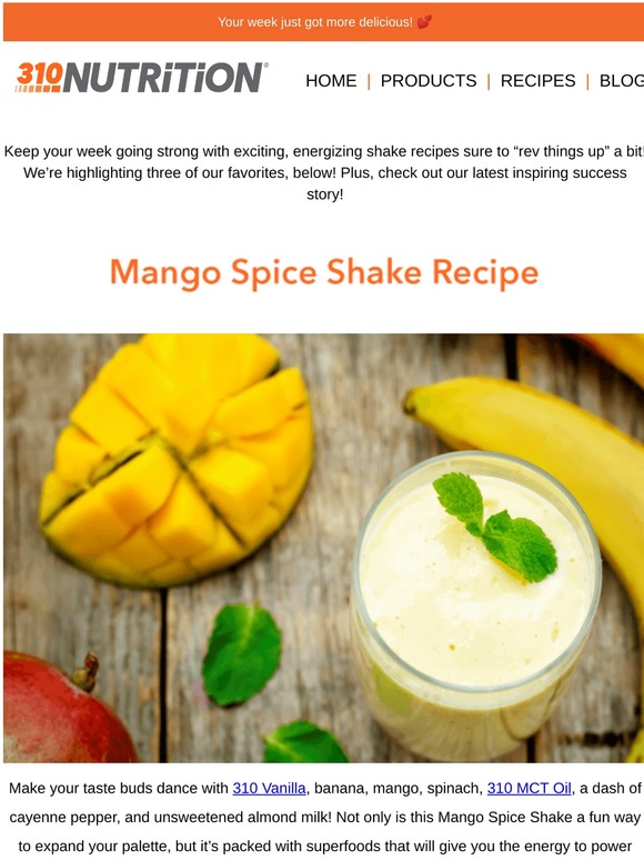 310 Nutrition The Best Shake Recipes For A Yummy Week Milled