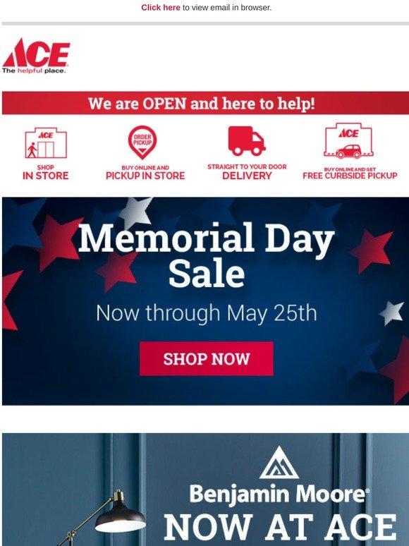 Ace Hardware Memorial Day Savings Start Now Milled