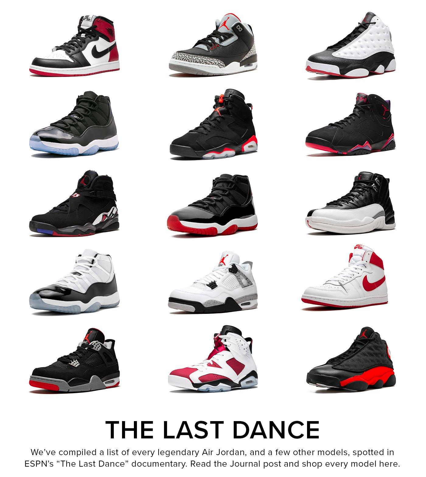 Stadium Goods: Every Air Jordan in 'The