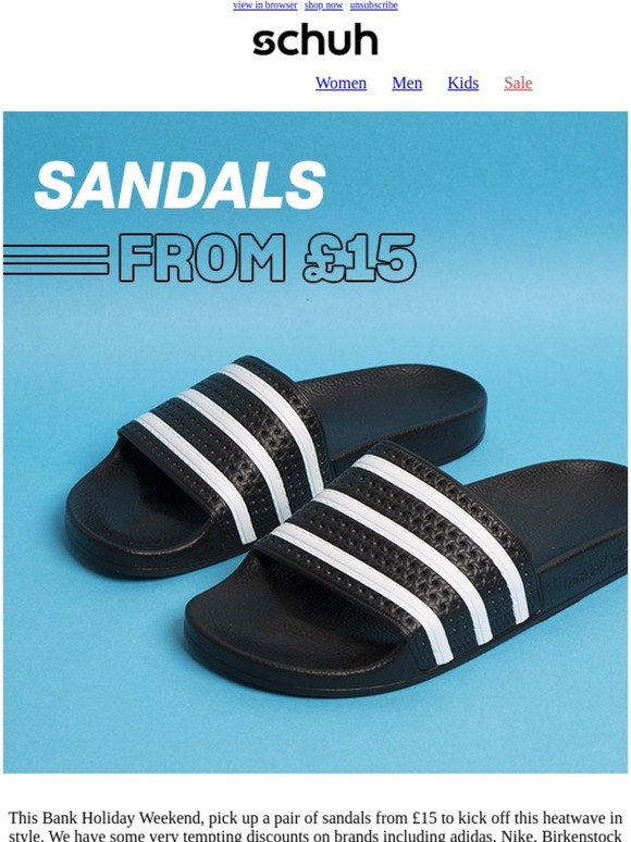 Schuh Ireland: Our £15 Bank Holiday