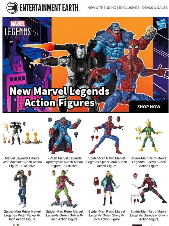 Marvel Legends Spider-Man Daredevil Retro 6-Inch Action Figure