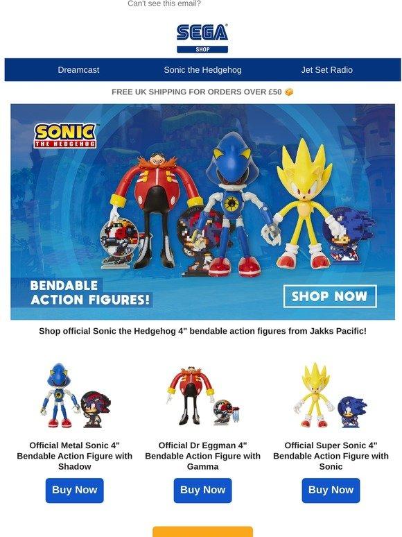 Sega Shop Jakks Pacific Bendable Action Figures Now Available Milled