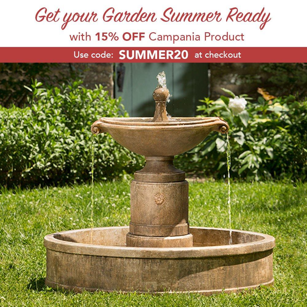 DIRECT GARDEN DÉCOR / Garden-Fountains.com: Three Days Left! Save