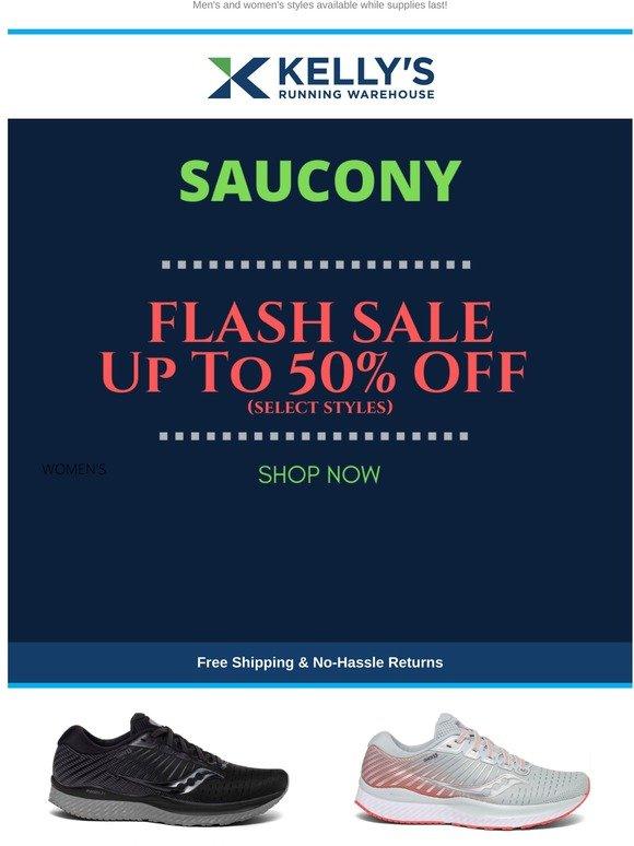 saucony warehouse sale