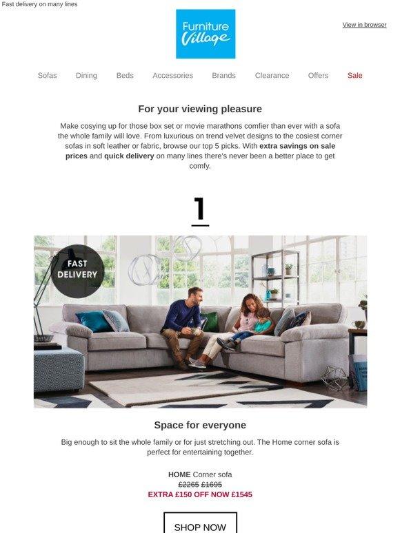 Furniture Village: 5 Best Sofas For Box Set Bingeing | Milled