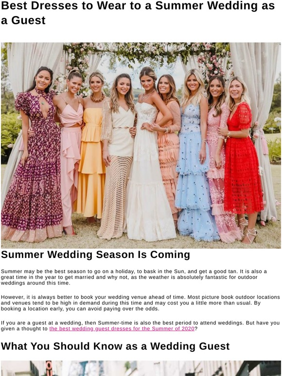Ever Pretty 5 Best Dresses To Wear To A Summer Wedding As A Guest Milled,Wedding Dress Lace Long Sleeves Open Back