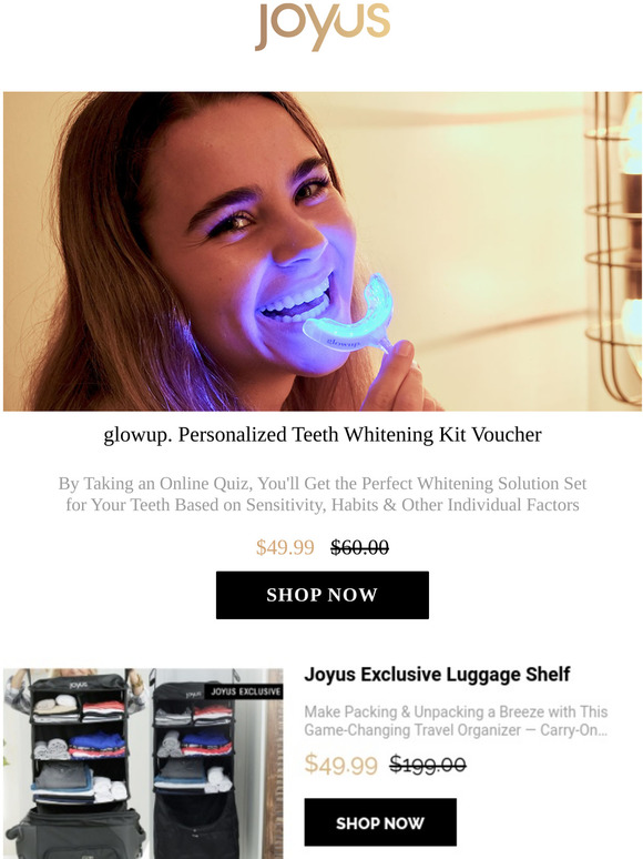 Joyus These Teeth Whitening Kits Are Personalized To You Milled