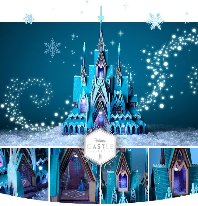 Disney Store Celebrate The Enchantment Of Arendelle With Our Frozen Castle Collection Milled