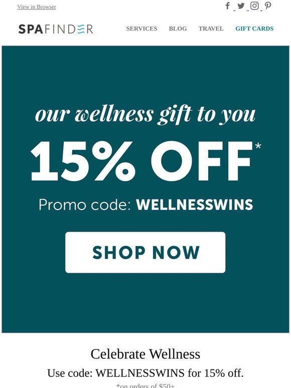 Spafinder Wellness 365 Celebrate Global Wellness Day Milled