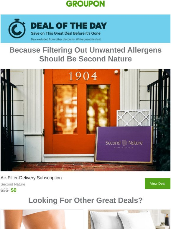 Groupon Email Newsletters Shop Sales Discounts And Coupon Codes Page 9