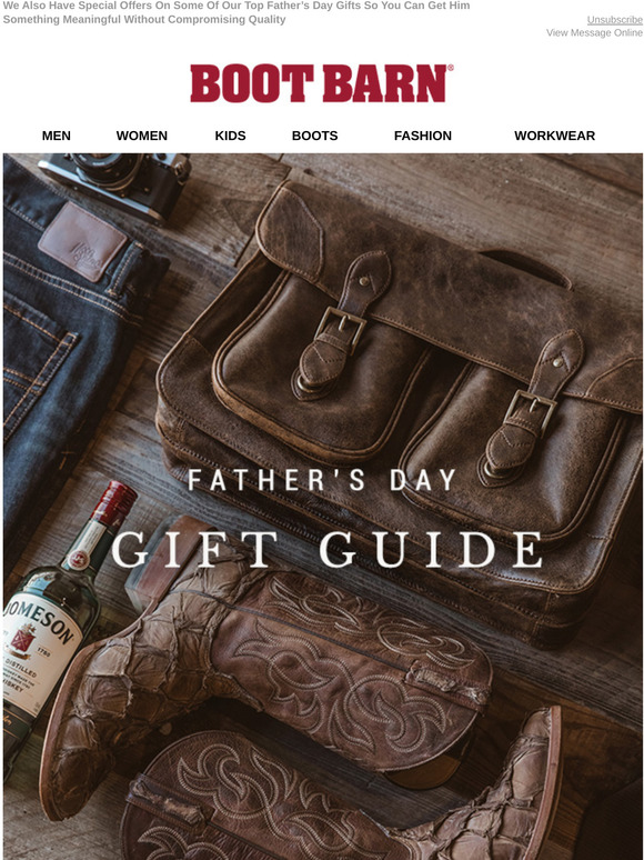 BootBarn.com: The Father's Day Gift