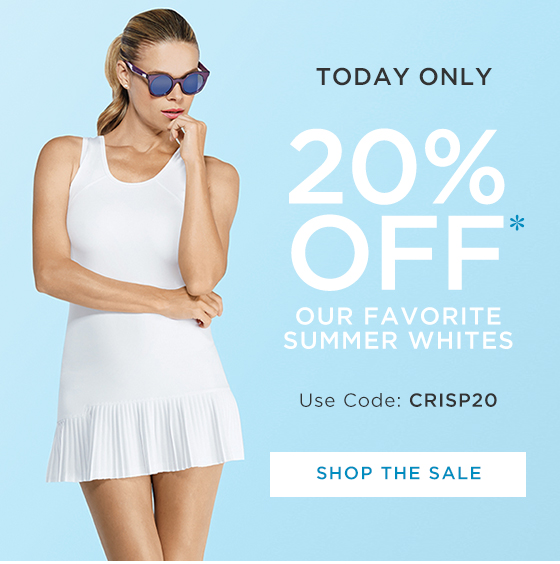 Tail Activewear: Today Only! 20% Off Select Summer Essentials