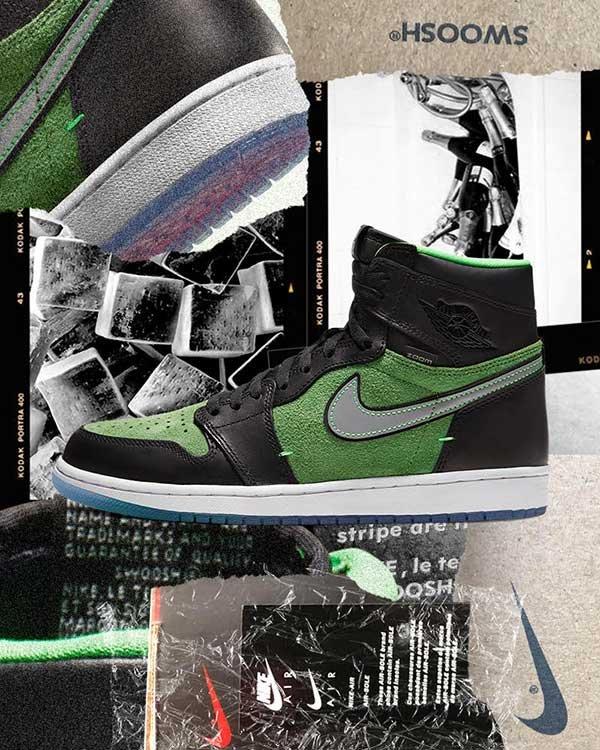 open: Air Jordan 1 High Zoom 'Brut