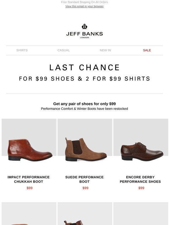 jeff banks shoes sale